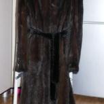Шуба норковая с капюшоном отс, Новосибирск