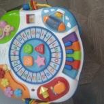 Продам детский музыкальный столик., Новосибирск