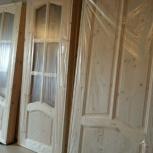 Двери из сосны и ценных пород древесины и погонаж, Новосибирск
