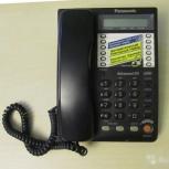 Стационарный телефон Panasonic черный, Новосибирск