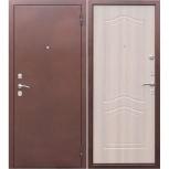 """Дверь входная """"Гарда 1512"""" белёный дуб, Новосибирск"""
