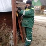 Сварочные работы в гараже, Новосибирск