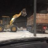 Уборка и вывоз снега от 1 машины, Новосибирск
