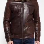 Продам тёплую, мужскую кожаную куртку, Новосибирск
