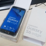 Новый телефон Samsung S6 Edge 64Gb Black Sapphire, Новосибирск