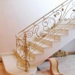 Изготовление металлокаркасных лестниц, Новосибирск