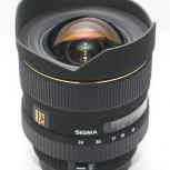 Объектив Sony A Sigma 12-24 f4-5.6 S, Новосибирск