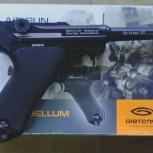 Продам пневматический пистолет gletcher parabellum, Новосибирск