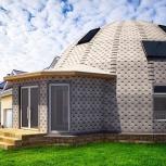 Каркас купольного дома Добросфера и купольные дома, Новосибирск