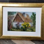 Картины из шерсти. Живопись шерстью, Новосибирск