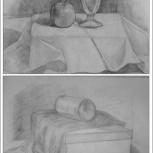 Обучение , живописи, рисунку, композиции. Репетитор. Подготовка в ВУЗ., Новосибирск