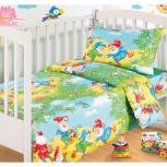 Детское постельное белье от ясельки до 1,5 спальных кроватей, Новосибирск