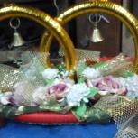 Свадебные колокольчики (на машину) б/у, Новосибирск