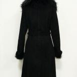 Дубленка женская черная натуральная, Новосибирск