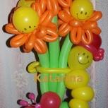 Цветы из воздушных шаров!, Новосибирск