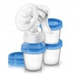 Продам AVENT Ручной молокоотсос  Comfort/Natural с системой хранения, Новосибирск