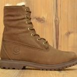 Зимние ботинки Timberland, коричневый, размер 37 38 39 40, Новосибирск