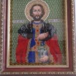 Продам икону, вышитую бисером, Новосибирск