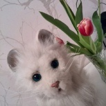 Интерактивная кошка от компании Hasbro, Новосибирск