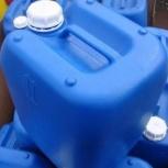 Канистра пластиковая 20 литров, для ГСМ, Новосибирск