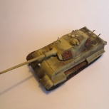 "Модель танка panzerkampfwagen VI ""Tiger I"" Ausf B, Новосибирск"