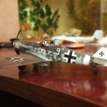 модель Bf 109 G-6 trop, Новосибирск