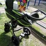 Почти новая коляска 3в1 pepe verdi eko, Новосибирск