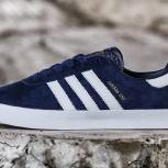 Кроссовки 350 SPZL, синий белый, размер 41 43 44, Новосибирск