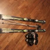 Продам горные лыжи Fischer AMC 73 + крепления FS10 RailFleх+ ботинки, Новосибирск