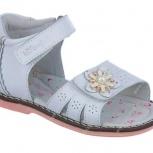 Туфли открытые на девочку Индиго., Новосибирск