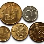 ИЗРАИЛЬ набор из 5 монет, Новосибирск