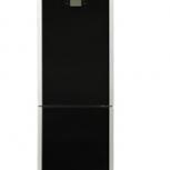 Холодильник lg black чёрный стекло, Новосибирск