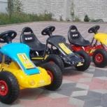 Детский электромобиль, картинг, на резиновых колесах, Новосибирск