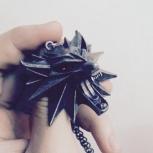"""Амулет медальон """"Ведьмак"""", Новосибирск"""