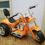 Продам Детский электромобиль Мотоцикл Чоппер, Новосибирск