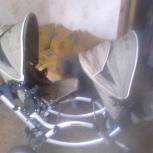 продам коляску для двойни б/у, Новосибирск