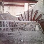 Продам лестницу винтовую б/у, Новосибирск