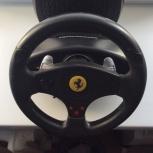 Продам руль игровой Thrustmaster Ferrari GT Experience RW V.3 PC-PS3, Новосибирск