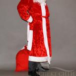Костюм Деда Мороза новый борода в подарок, Новосибирск