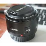Продам объектив Canon 50 1.8, Новосибирск