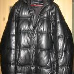 Зимняя куртка из эко кожи, Новосибирск