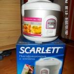Мультиварка новая scarlett SC-413 с книгой рецептов, Новосибирск