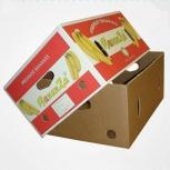 Продам банановые коробки б/у, Новосибирск