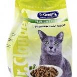 """Dr. Clauder""""s сухой корм для кошек диетическое мяс, Новосибирск"""