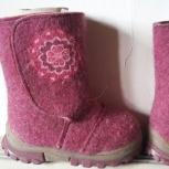 Детская обувь. Детские демисезонные сапоги из натуральной кожи, Новосибирск
