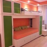 Двухъярусная кровать со шкафами, Новосибирск