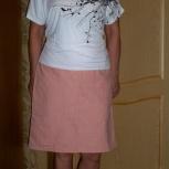 Продам женскую юбку и блузу б/у, Новосибирск