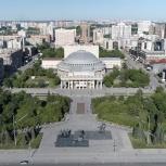 Съемка квадрокоптером., Новосибирск