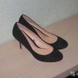Новые черные туфли замша, Новосибирск