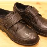 Туфли kapika, чёрные, полностью нат.кожа 32р-р, Новосибирск